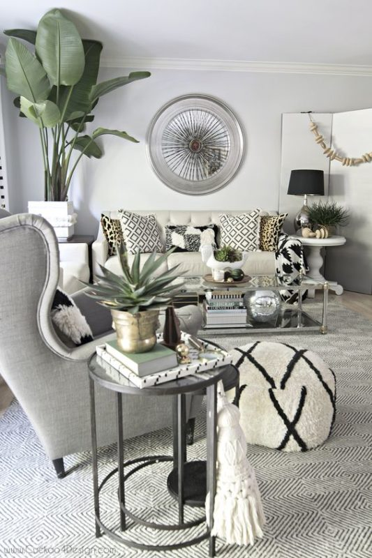 Top 10 cool things for your contemporary living room for Top 10 living room plants