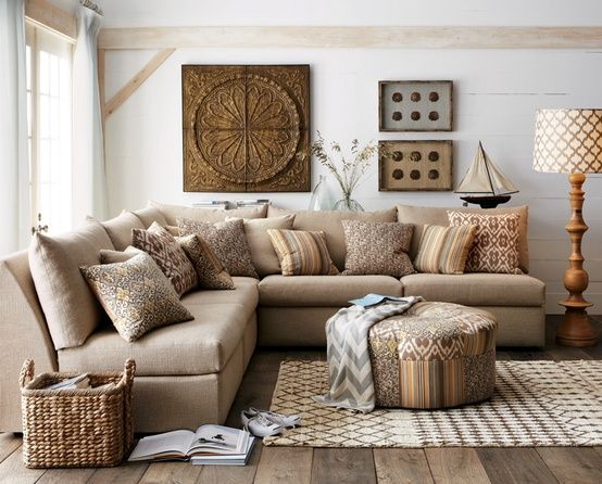 Ways To Make Your Cold Living Room Cozy In Winter