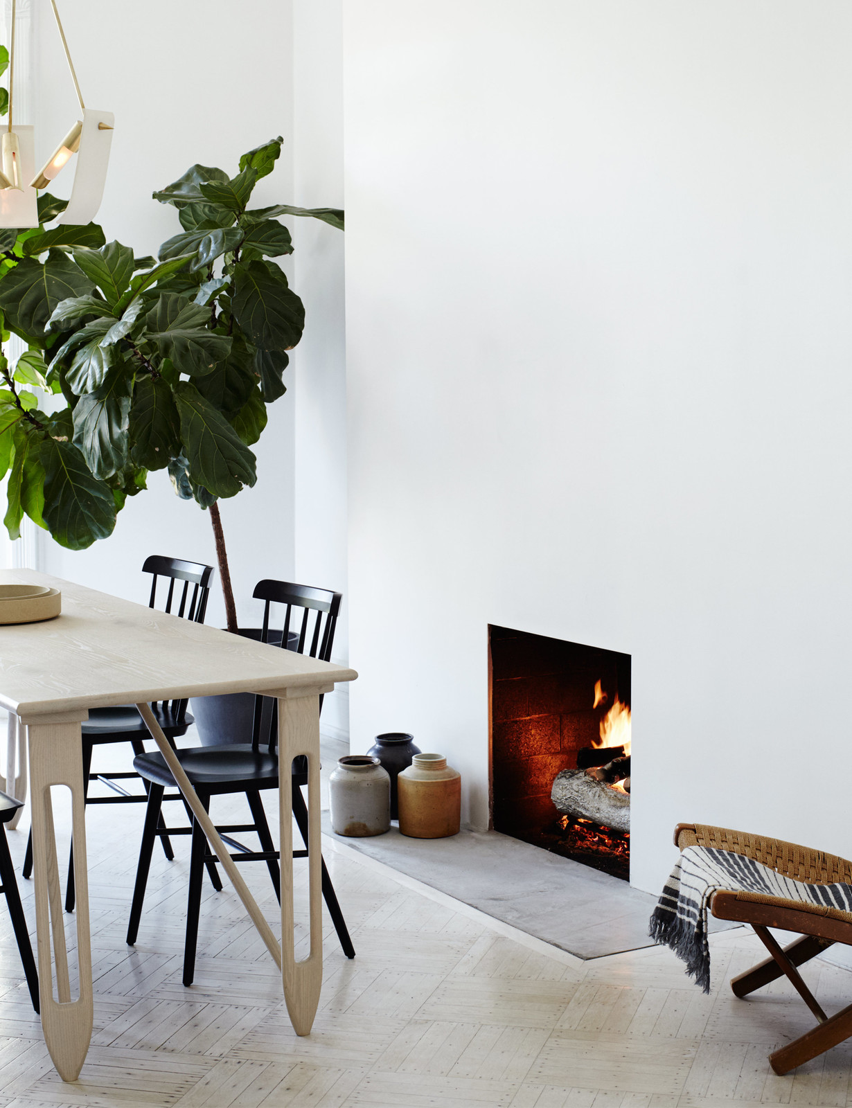 Sartorial Brooklyn brownstone with scandi vibes - Daily Dream Decor