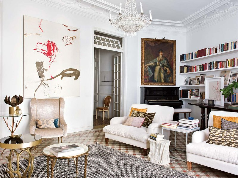 Bright and beautiful apartment in Madrid
