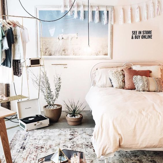 These 8 dreamy bedrooms will make you think they are from for Room decor urban outfitters uk