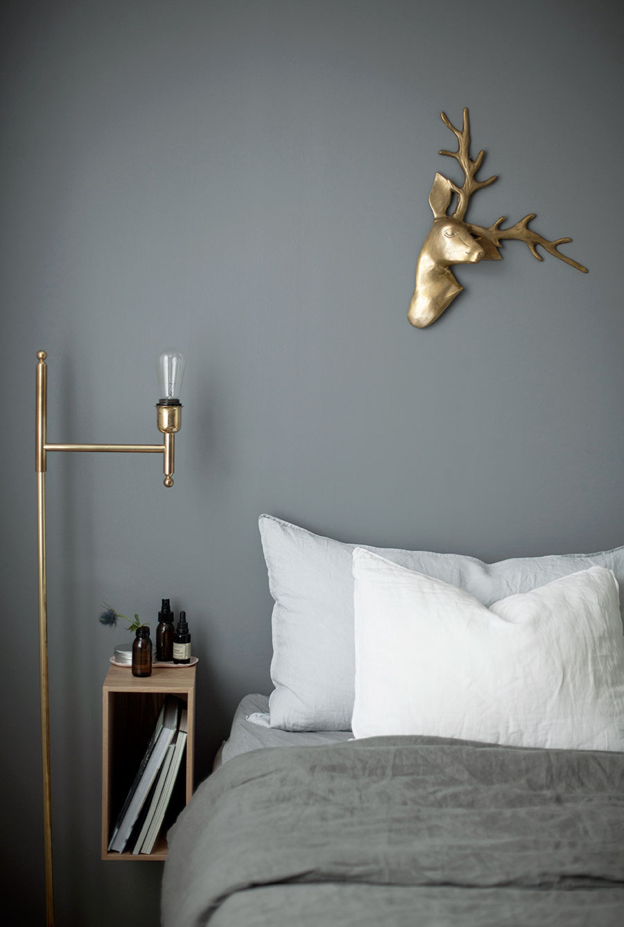 Warm shades of gray in a dreamy apartment - Daily Dream Decor
