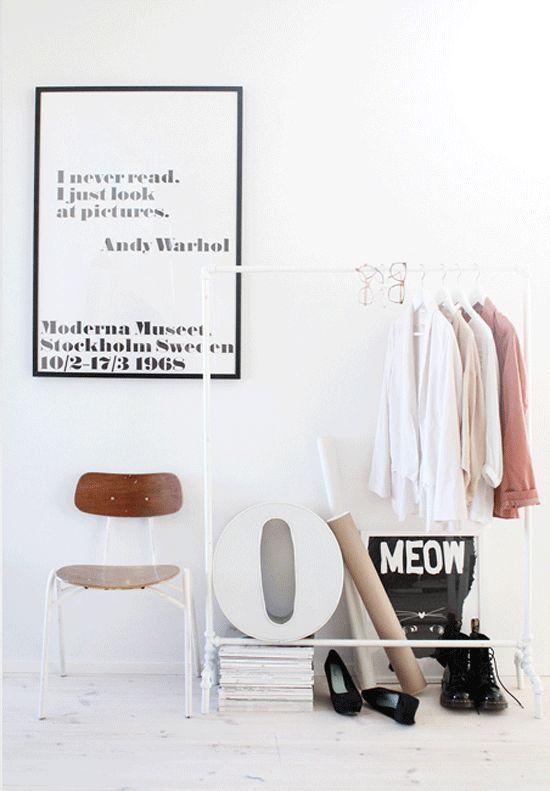 Clothing Rack Minimalist Room Main