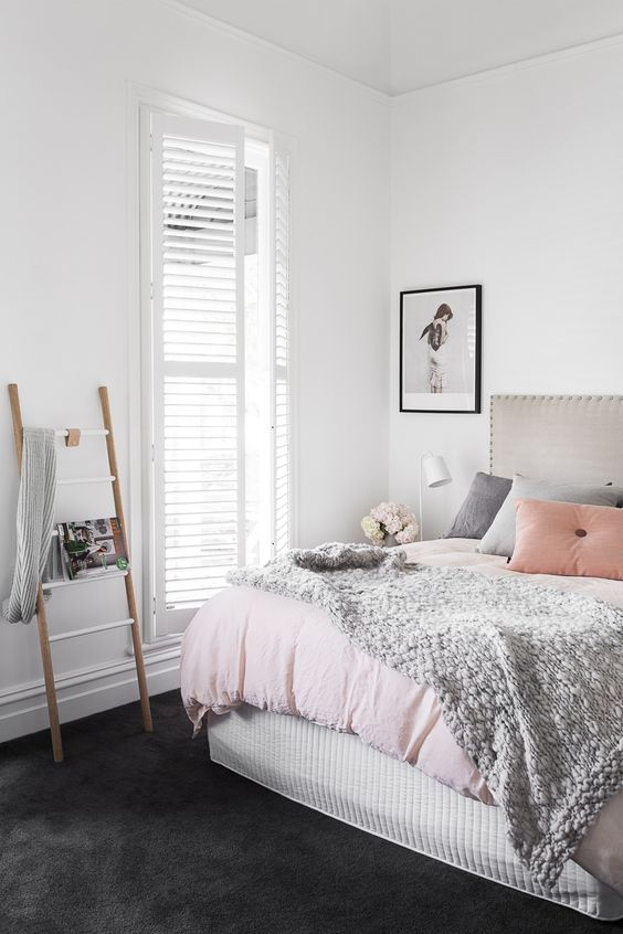 9 Gorgeous White Grey And Pink Interiors That Make You