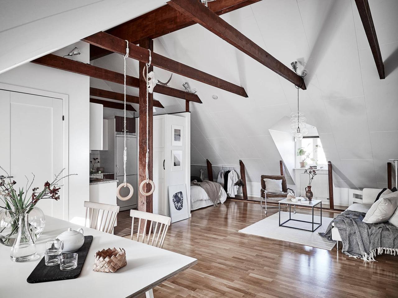 Dreamy Scandinavian Attic Studio Daily Dream Decor