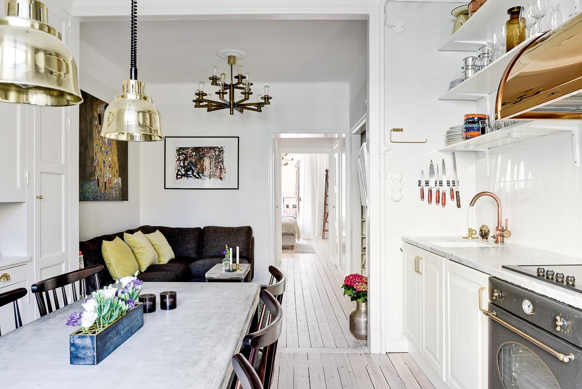 Scandanavian Kitchen a dreamy scandinavian kitchen - daily dream decor