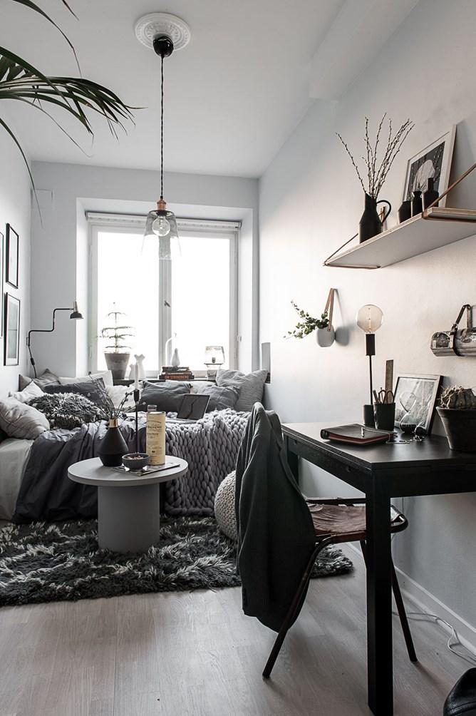 A teeny tiny dreamy studio apartment daily dream decor for Tiny studio decor