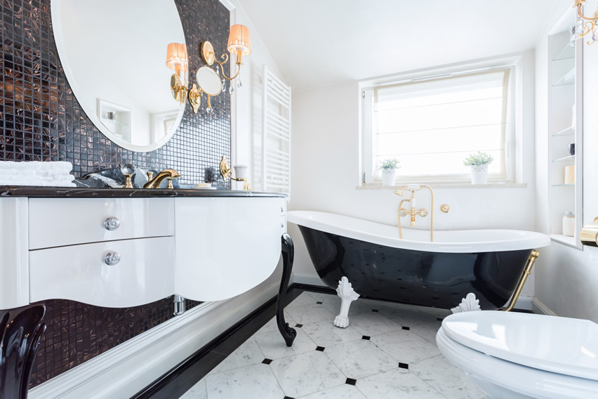 3 key design elements for your art deco inspired bathroom