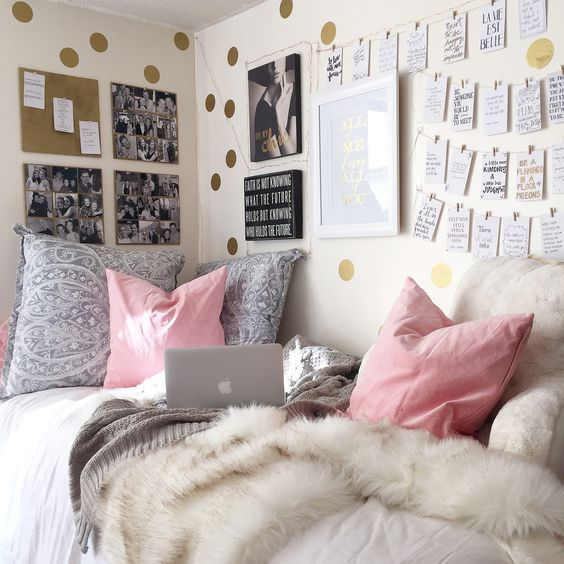 Superieur 9 Gorgeous White, Grey And Pink Interiors That Make You Dream