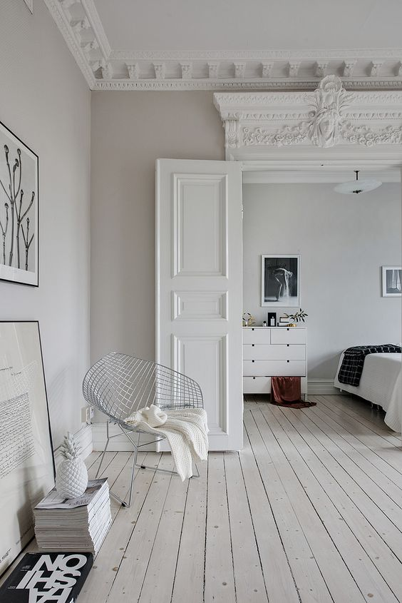 7 interiors that will convince you scandinavian floors are - Decoration maison campagne ...