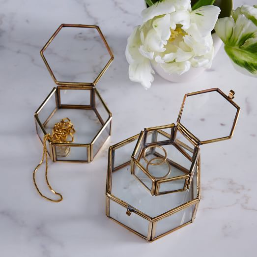 nesting-glass-shadow-boxes-hexagon-set-of-3