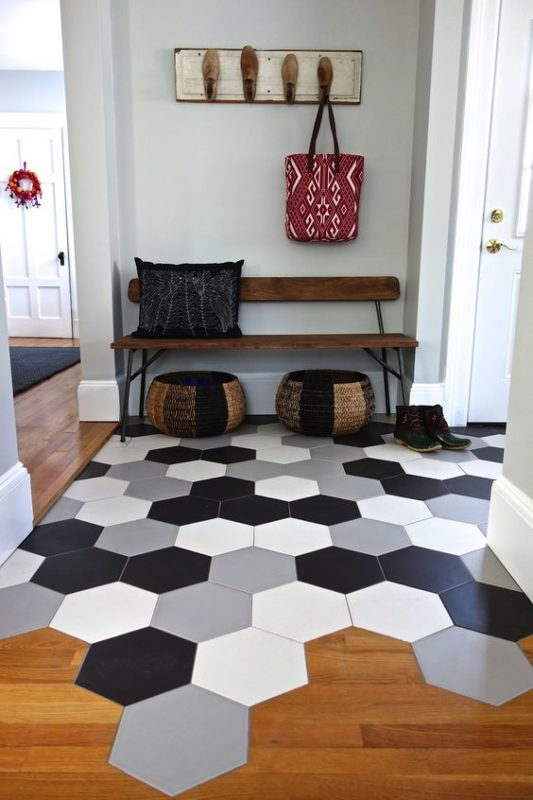 6 tile trends for 2017 - Big Tiles For Living Room