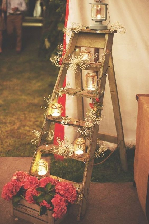 7 reason why ladders are the coolest thing to decorate this christmas daily dream decor