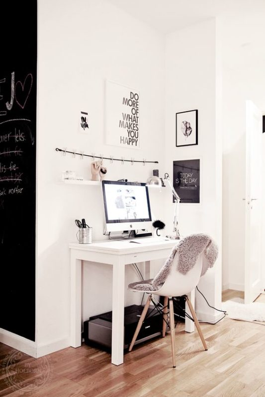 Office Room Design: 6 Office Ideas For Small Apartments