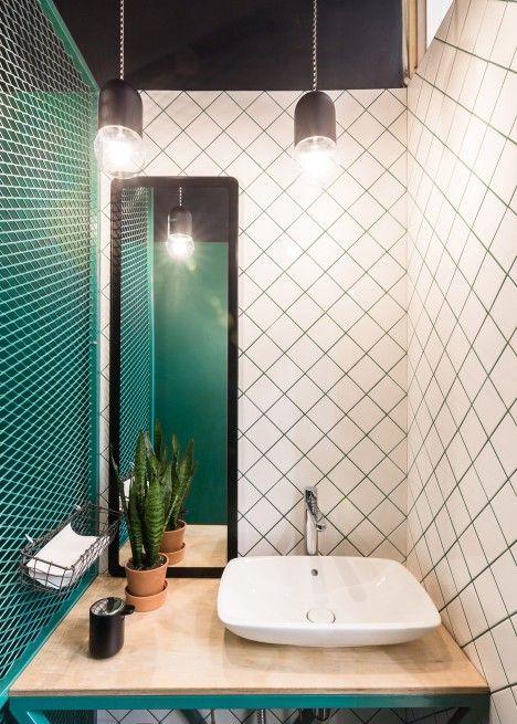 6 tile trends for 2017 daily dream decor Best restaurant bathroom design