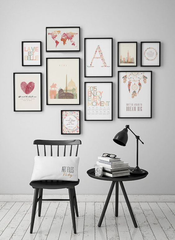 Wall Decor With Photos Pinterest : Tips on how to make the perfect gallery wall daily