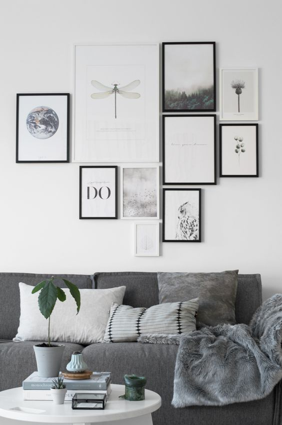 8 tips on how to make the perfect gallery wall daily