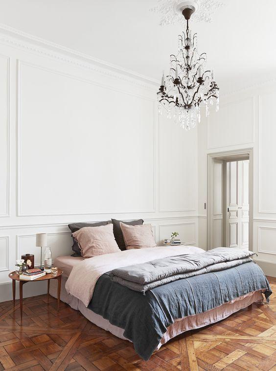 ols and new parisian style apartment