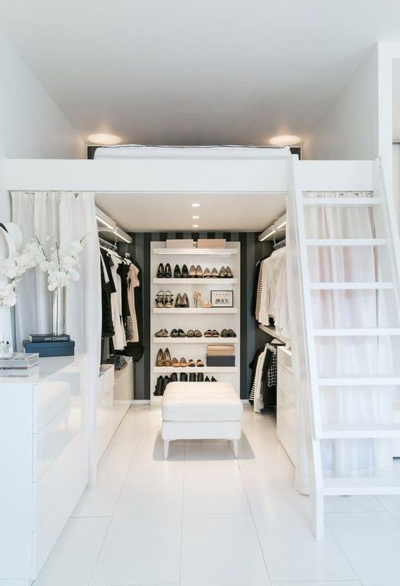 7 Ideas to transform a spare room into a closet - Daily Dream Decor
