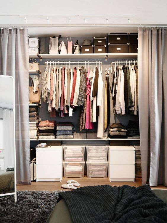 7 Ideas to transform a spare room into a closet Daily Dream Decor