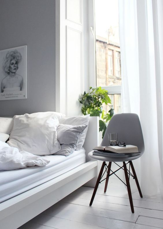 eames chairs huest room bedroom 1