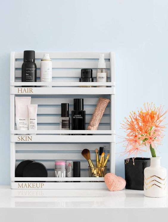 5 Dreamy tricks to store your makeup and cosmetics