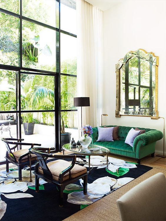 How To Mix Match Emerald Green Into Your Dreamy Home