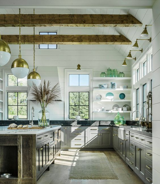 Perfect 8 Dreamy Ideas To Give Your Kitchen A Vintage Farmhouse Vibe   Daily Dream  Decor