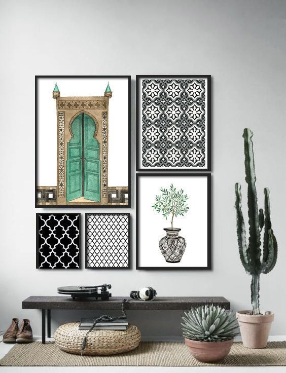 Middle Eastern Wall Decor - Home Decorating Ideas