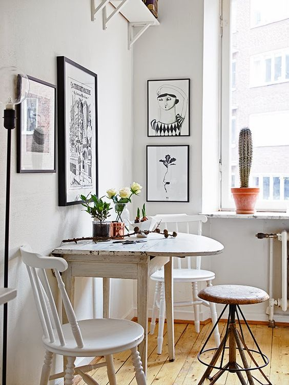 9 dreamy tricks to make a small kitchen look bigger for Art et cuisine rm 101