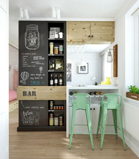 9 Dreamy tricks to make a small kitchen look bigger - Daily Dream ...