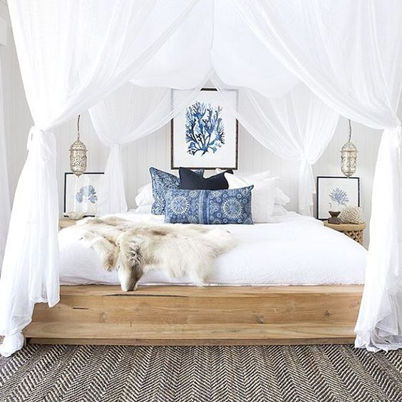9 sea inpired bedrooms that will make you think of for Sea bedroom decor