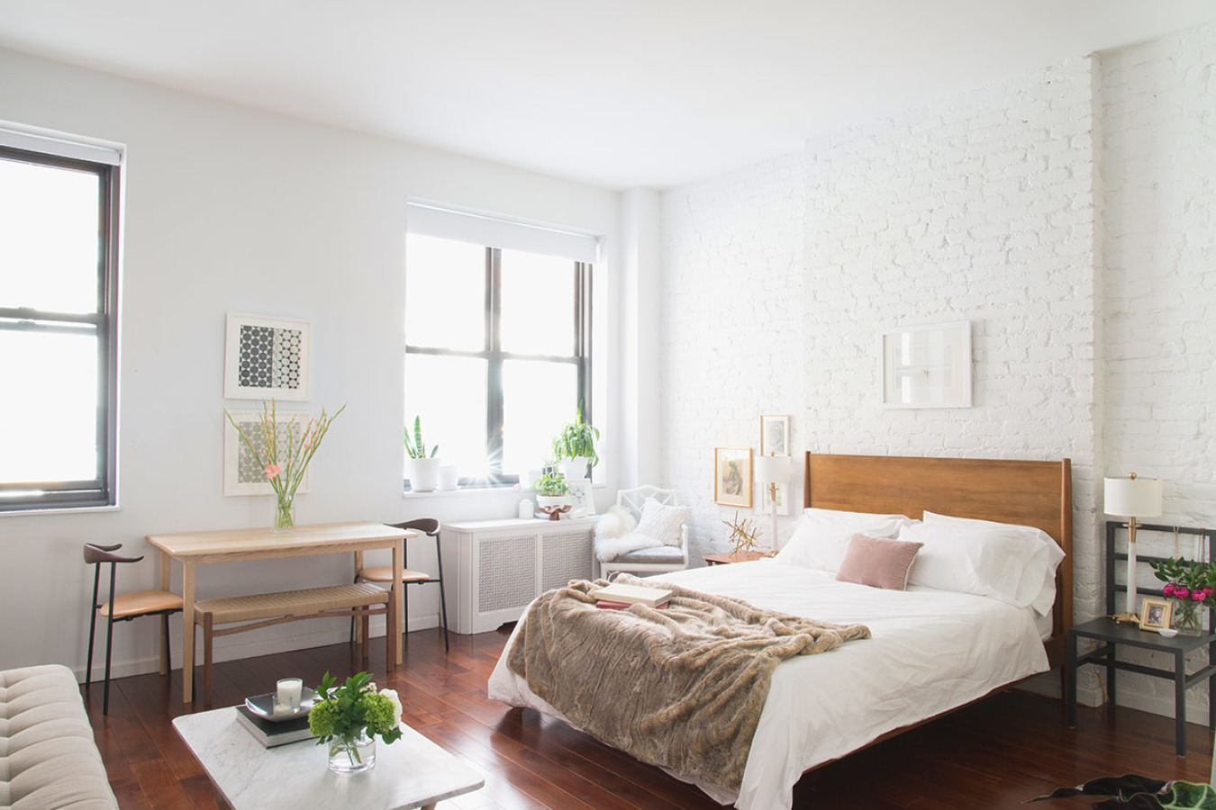 a dreamy nyc studio apartment with a perfect layout