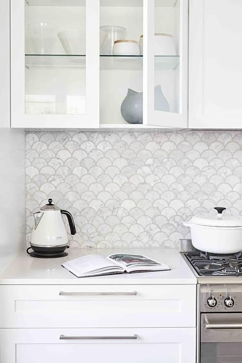 kitchen tiles for white kitchen.  5 Dreamy Tile Trends For 2017 Daily Dream Decor