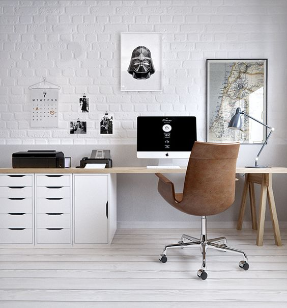 Getting A New Office And Trying To Make Your Old One A Prettier And More  Organized Space? Well, We Thought That These Seven New IKEA Items Might  Help You ...
