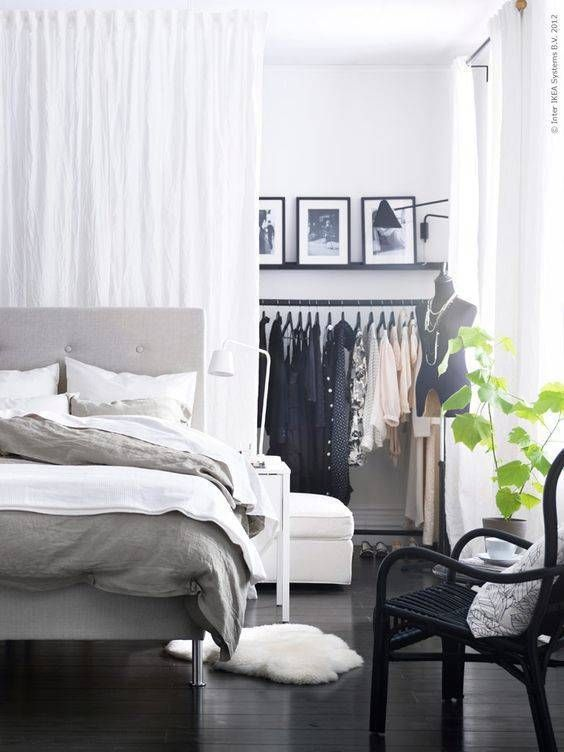 2  Decorate your walls instead of having a lot of furniture items. 8 Enchanting tips on how to make your bedroom look bigger   Daily