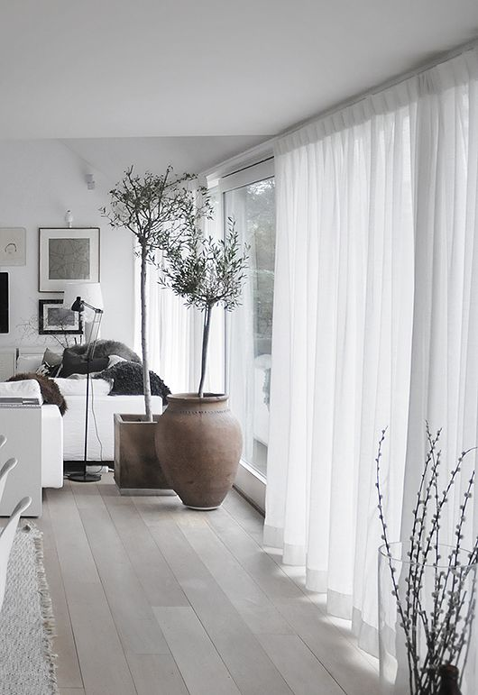 white curtains living room. 6 Things to Consider When Choosing Curtains For Each Room Of Your House