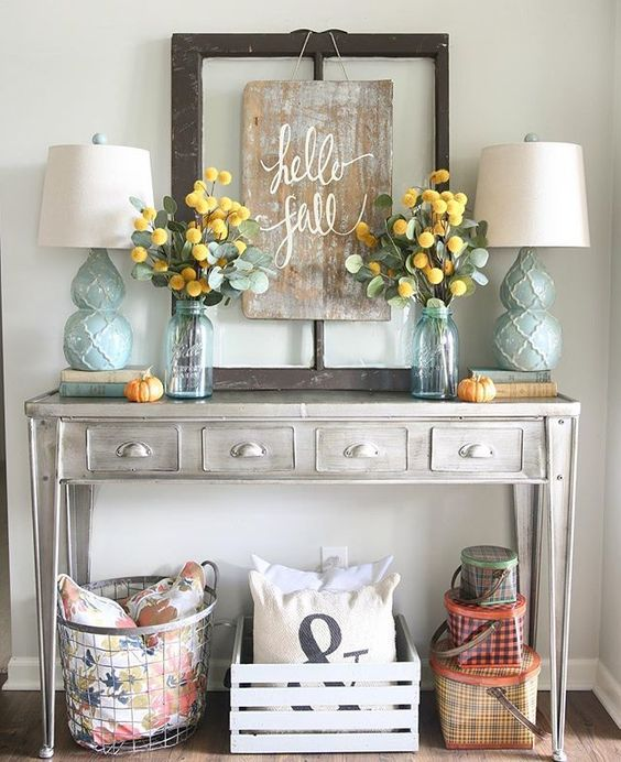6 Dreamy Ways To Decorate Your Living Room For Fall