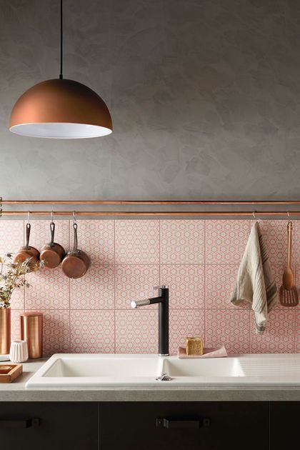 7 splendid kitchens that prove pink can be the perfect color for