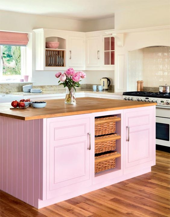 All Pink Kitchen 7 splendid kitchens that prove pink can be the perfect color for