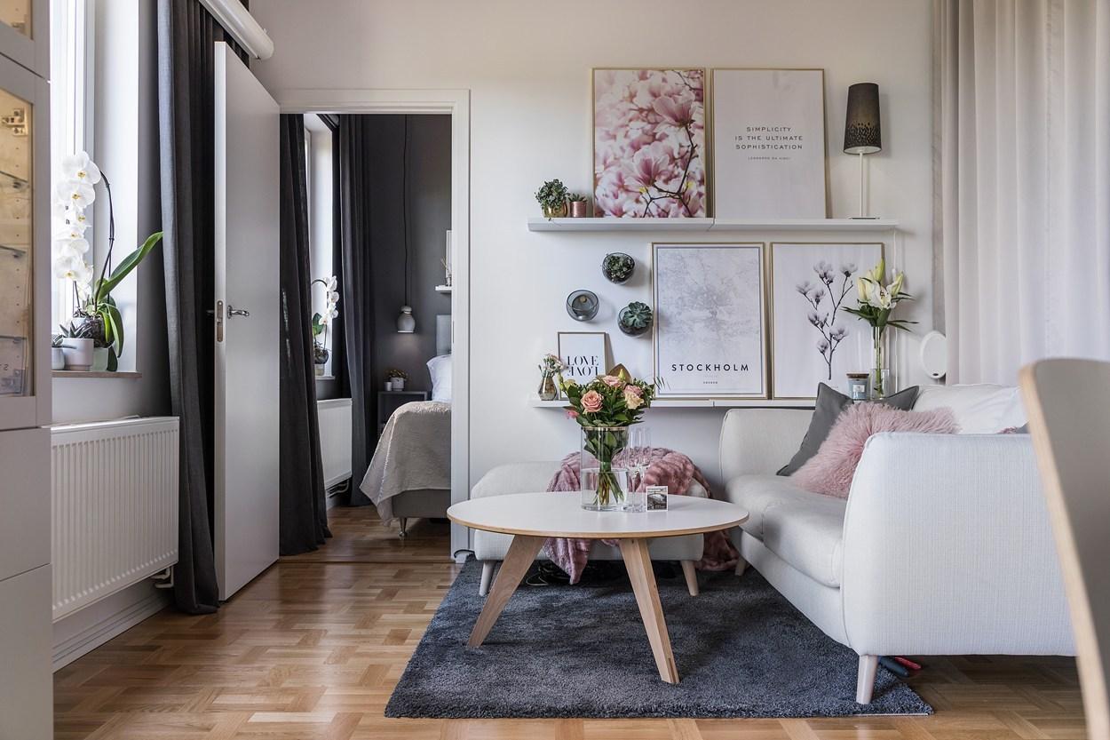a tiny feminine apartment daily dream decor