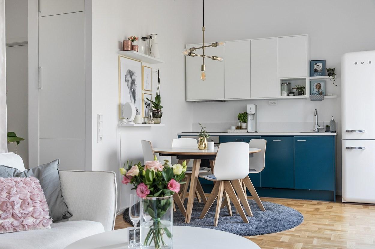 A tiny feminine apartment - Daily Dream Decor