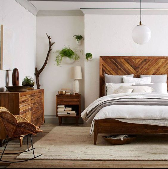 8 Gorgeous Vintage Mid Century bedrooms you will adore! - Daily ...