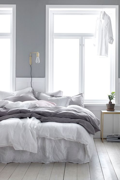 7 Splendid grey bedrooms that will make you dream about this room ...