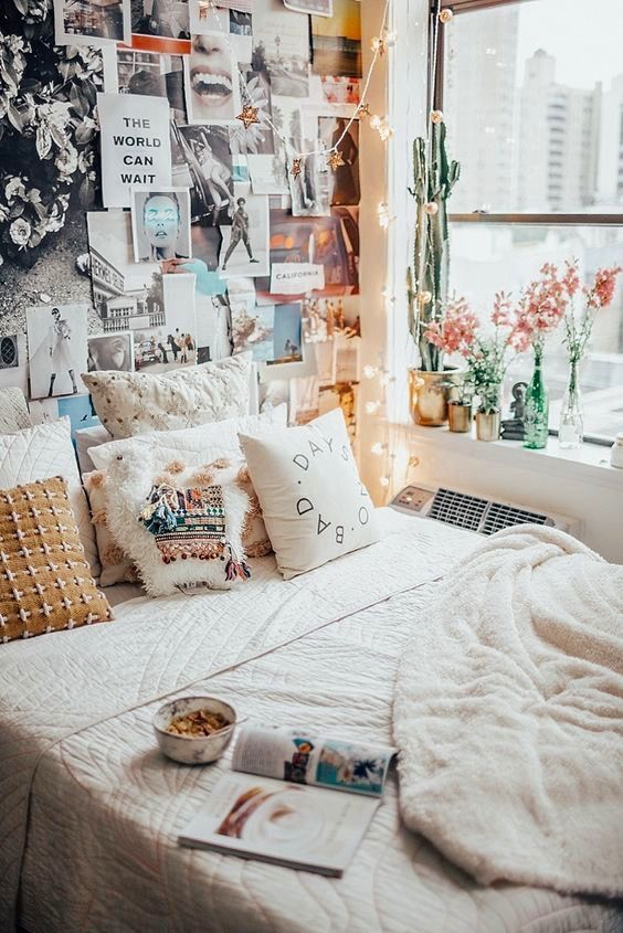 Small Dorm Room Ideas: 9 Cozy Bedrooms That Will Help You Face The Winter In A