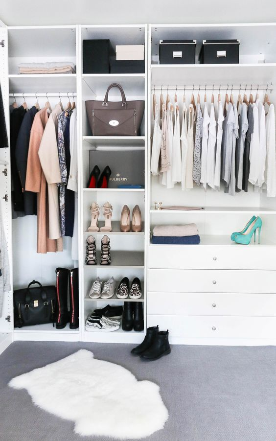 6 Stylish ideas to organize your closet for 2018   Daily Dream Decor