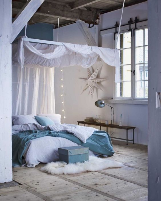 10 Cozy And Dreamy Bedroom With Galaxy Themes: 9 Cozy Bedrooms That Will Help You Face The Winter In A