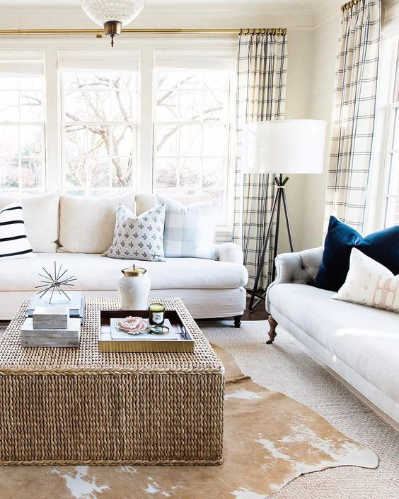 8 chic ideas that transform a classic living room into a dreamy