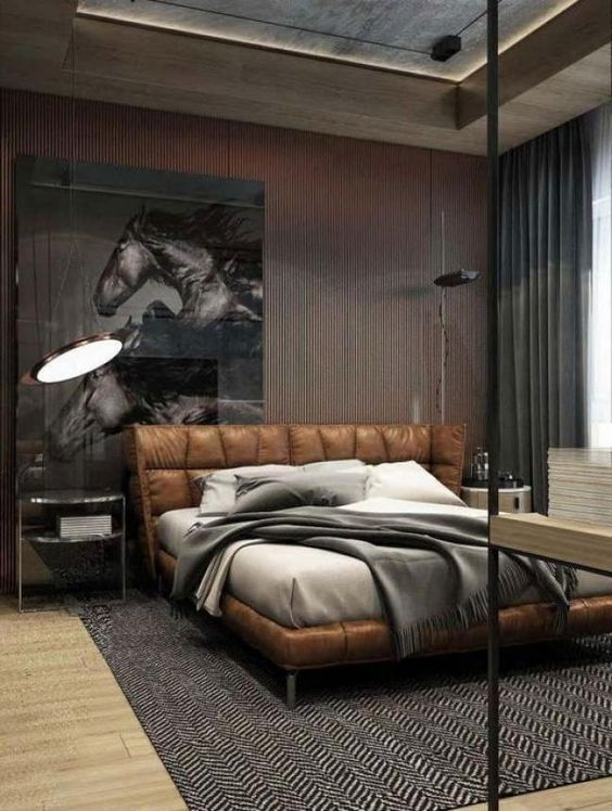 5 Stylish Masculine Bedrooms You Will Crave For