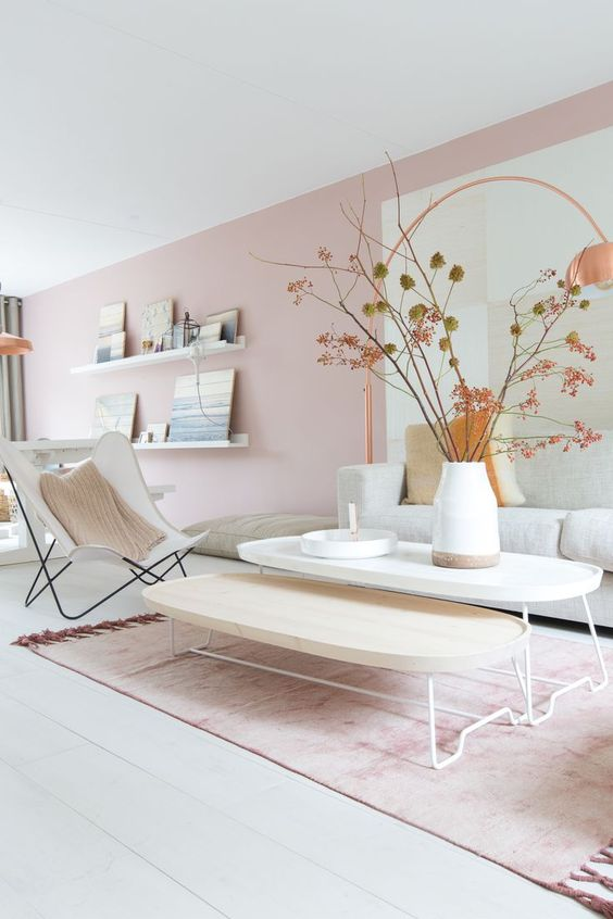 Pink Living Room Ideas: How To Make Your Home More Modern Using The Splendid Pink